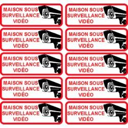 maison sous surveillance vidéo