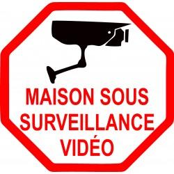 maison sous surveillance vidéo octogonal