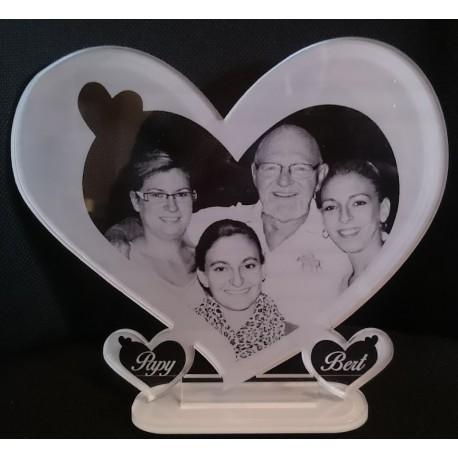 gravure photo grand cœur