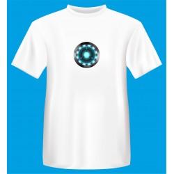 t shirt arc reactot iron man