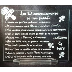 les dix commandements parrain